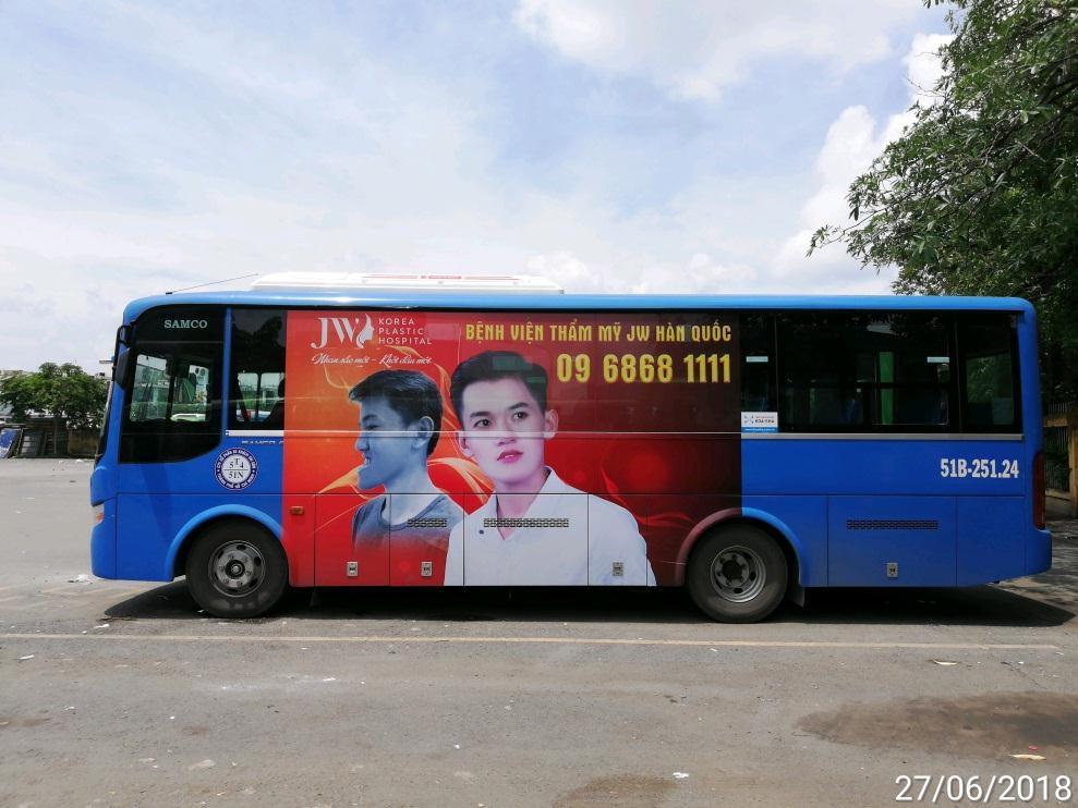 Quảng cáo xe bus hồ chí minh mang lại lợi ích gì?