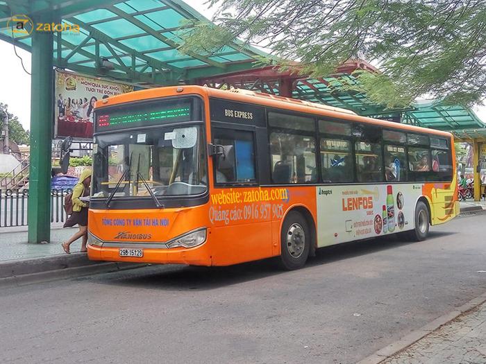 Bật mí cách quảng cáo xe bus Hà Nội thu hút người xem