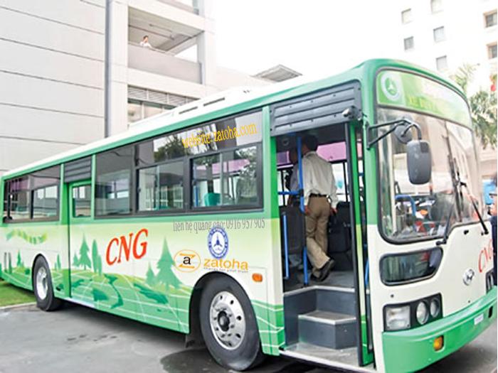 Quảng cáo xe bus Bình Dương