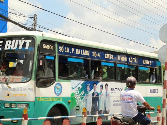 Làm thế nào để quảng cáo xe bus Hậu Giang đạt hiệu quả