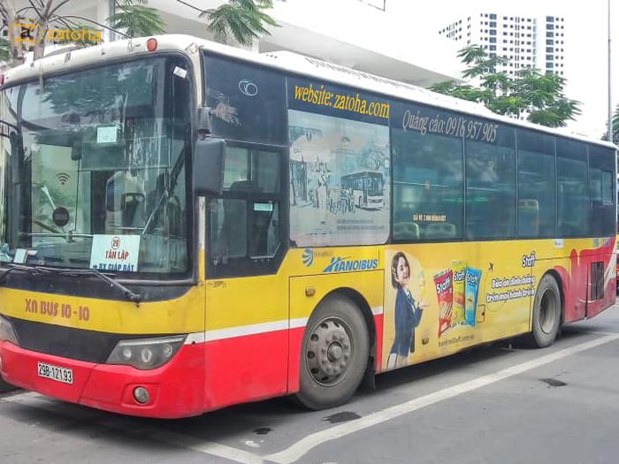 Dịch vụ quảng cáo xe bus Hà Nội hiệu quả nhất hiện nay