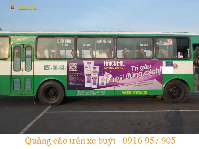 Tiềm năng đến từ Quảng cáo xe bus Long An