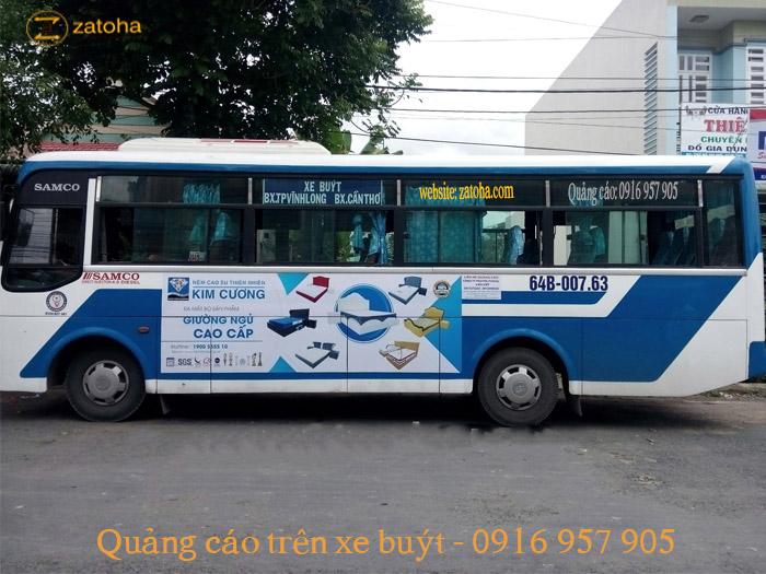 Khám phá dịch vụ Quảng cáo xe bus Vĩnh Long