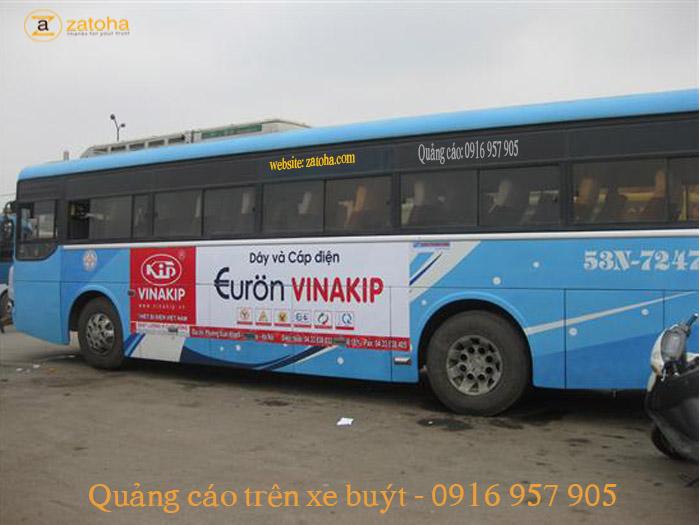 Dịch vụ quảng cáo trên xe liên tỉnh hiệu quả nhất