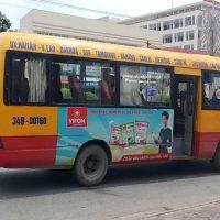 Báo giá quảng cáo xe Bus Tỉnh Hải Dương