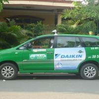 Những điều bạn cần biết về dịch vụ quảng cáo trên xe taxi Mai Linh
