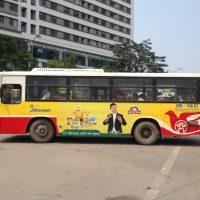 Quảng cáo xe bus miền Bắc và những điều cần biết