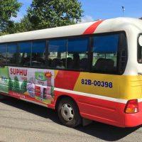 5 bước quảng cáo xe bus miền Trung Nam Bộ và Tây Nguyên