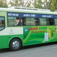 Cách quảng cáo xe bus miền Nam hiệu quả, chuyên nghiệp