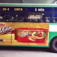 Quảng cáo xe bus miền Tây - phủ quảng cáo rộng khắp 13 tỉnh thành