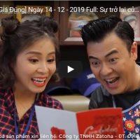 Chương Trình Hãy Chọn Giá Đúng Ngày 14-12-2019