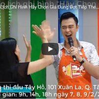 Thông báo lịch ghi hình Hãy Chọn Giá Đúng đợt 115 tại Hà Nội.